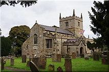 SK4665 : St John the Baptist Church, Ault Hucknall by Ian S