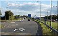 SO9039 : Slip road on M5 motorway by Trevor Littlewood