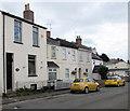 SO9322 : Yellow cars, Alstone Croft, Cheltenham by Jaggery