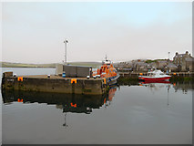 HU4741 : Lifeboat Jetty, Lerwick Small Boat Harbour by David Dixon