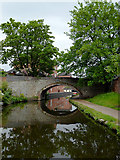 SO8276 : Caldwall Mill Bridge in Kidderminster, Worcestershire by Roger  Kidd