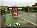 SE2833 : Relocated bus stop, Armley Road by Stephen Craven