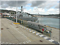 TR3240 : HMS Kent moored beside Admiralty Pier by John Baker