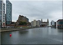 SJ3390 : Princes Dock in Liverpool by Mat Fascione
