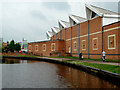 SO8376 : Canal in Kidderminster, Staffordshire by Roger  Kidd