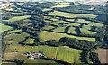 TQ1134 : Northwest of Rowhook from the air by Derek Harper