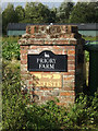 TM1287 : Priory Farm sign by Adrian Cable