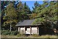 NH8097 : Bird Hide at Loch Fleet, Sutherland by Andrew Tryon