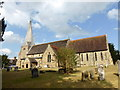 TQ4223 : St Andrew and St Mary the Virgin Church, Fletching by PAUL FARMER