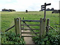TQ4023 : Gated entrance to Home Park, Sheffield Park by PAUL FARMER