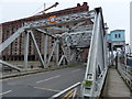 SJ3392 : Stanley Dock rolling Bascule lifting bridge by Mat Fascione
