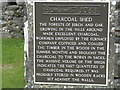 NN0131 : The Charcoal Shed by M J Richardson