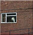 SU9295 : Penn Common industrial estate window by Robert Eva