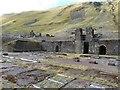 SN8074 : Disused lead mine near Cwmystwyth by Derek Voller