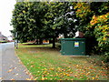 SJ6550 : United Utilities Sewage Pumping Station, Audlem Road, Nantwich by Jaggery