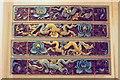TQ3081 : Dragon tiles, British Museum by Derek Harper