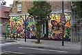TQ2884 : Buck Street mural, Camden Town by Julian Osley