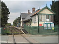 SO0291 : Caersws railway station, Powys by Nigel Thompson