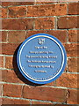 ST8623 : Shaftesbury: blue plaque on 4 Bell Street by Jonathan Hutchins