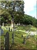 SN7673 : The churchyard at Hafod Church, Cwmystwyth by Derek Voller