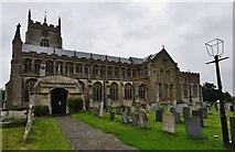 TF5520 : Terrington St. Clement: St. Clement's Church by Michael Garlick