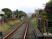 SH5639 : The line from Porthmadog to Minffordd and beyond by John Lucas