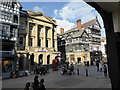 SJ4066 : Chester: Eastgate Street at junction with St Werburgh Street by Jonathan Hutchins