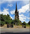 SJ8890 : Christ Church, Heaton Norris by Gerald England