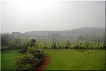 SW9451 : A misty Cornish landscape by N Chadwick