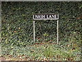 TM1590 : Wash Lane sign by Adrian Cable