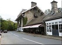 SN7477 : The Hafod Arms Hotel at Devil's Bridge, Ceredigion by Derek Voller