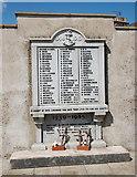 NJ9505 : Dock workers' memorial, Footdee by Bill Harrison