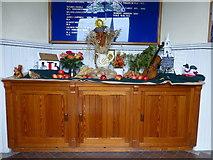 H4472 : Trinity Presbyterian Church, Omagh - Harvest Hymn Display (1) by Kenneth  Allen
