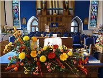 H4472 : Trinity Presbyterian Church, Omagh - Harvest Hymn Display (8) by Kenneth  Allen