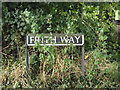 TM1788 : Frith Way sign by Adrian Cable