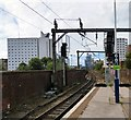SJ8497 : Tracks west of Piccadilly by Gerald England