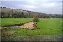 TR0650 : Small channel in the Stour Valley by N Chadwick