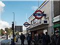 TQ3682 : Mile End Underground Station, Mile End, London by Christine Matthews