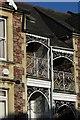 ST5873 : Ironwork on Woodland Road, Bristol by Derek Harper