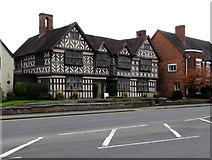 SJ6552 : Grade I listed Churche's Mansion, Nantwich by Jaggery