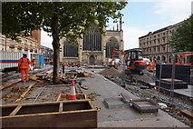 TA0928 : Trinity Square, Hull by Ian S