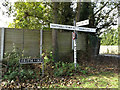 TM1690 : Signpost & Frith Way sign by Adrian Cable