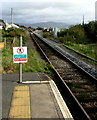 SN6096 : Cambrian Coast Line from Aberdovey station towards Penhelig station by Jaggery