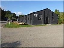 SO8845 : Former RAF Defford building by Philip Halling