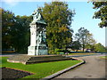 SE2935 : Statue of Queen Victoria, Woodhouse Moor, Leeds by Humphrey Bolton