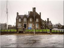 HU4741 : County Buildings, King Erik Street, Lerwick by David Dixon