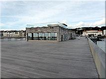 TQ8109 : The Deck, Hastings Pier by PAUL FARMER