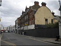 TQ5473 : Disused shop units, Lowfield Street, Dartford by Richard Vince