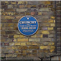 TQ3382 : Blue plaque, Village Underground by Ian Taylor