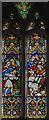 SO7531 : Stained glass window, St Bartholomew's church, Redmarley D' Abitot by Julian P Guffogg